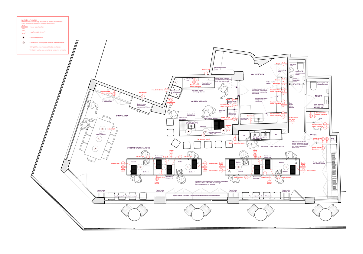 Cookery School Floorplan