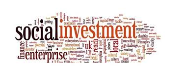 Social Investment word cloud